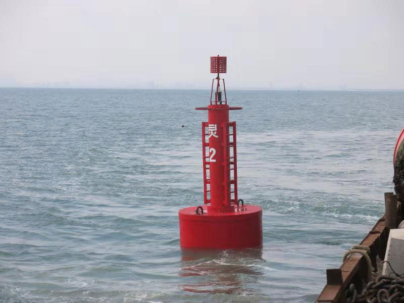 Congrats the Second Generation UHMWPE Navigation Buoy Come to the World