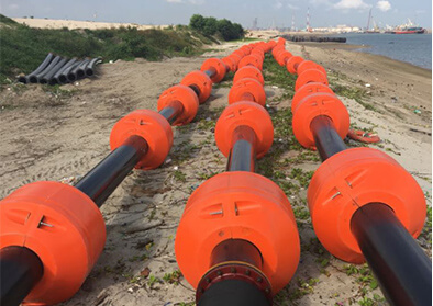 UHMWPE Dredging Pipe Cases