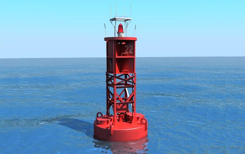 Steel Navigation Buoy
